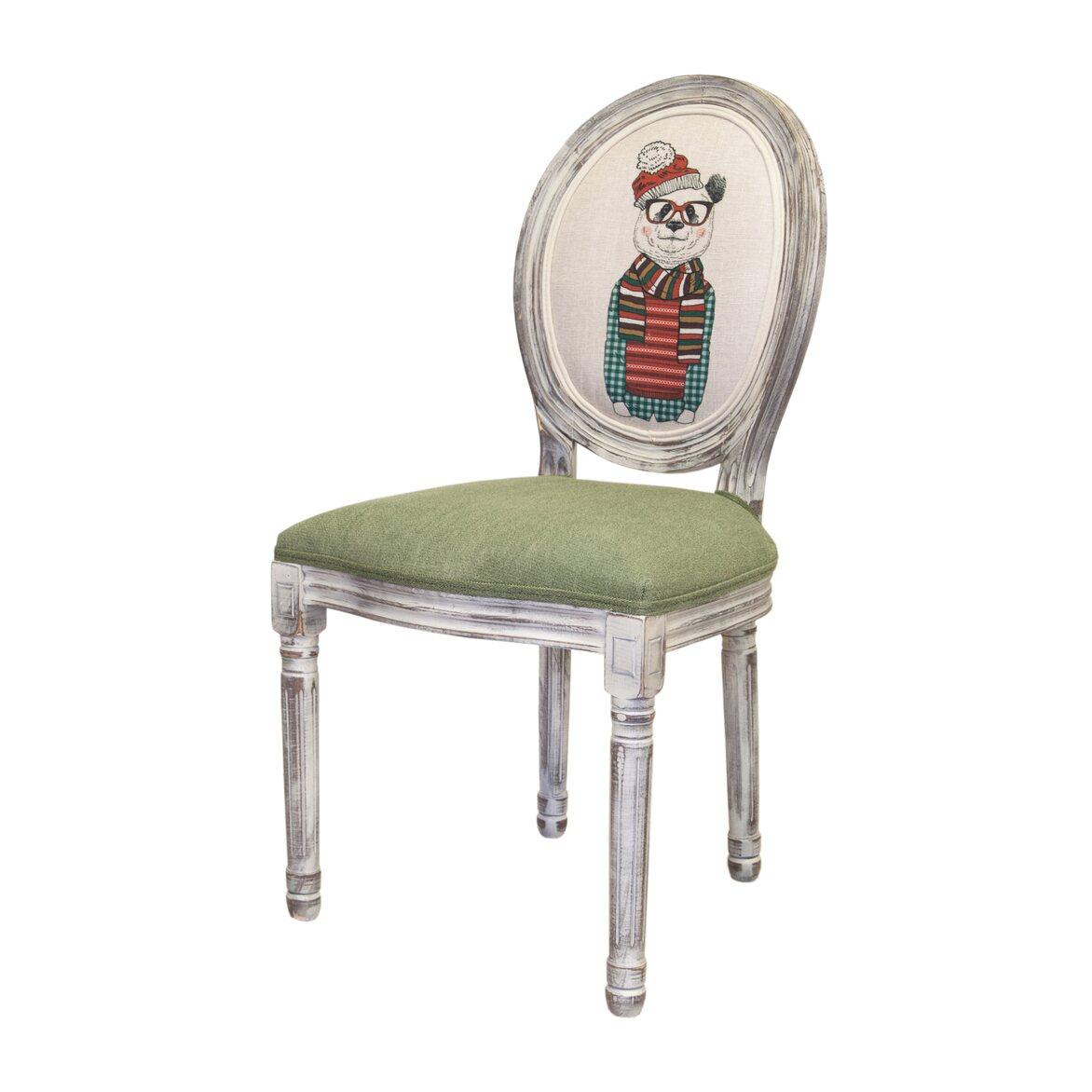 Стул Volker green bear ver.2 3   Обеденные стулья Kingsby