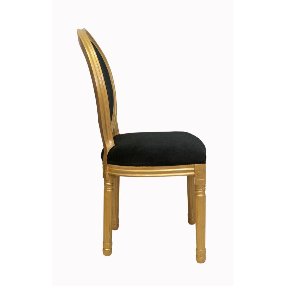 Стул Volker black gold 2 | Обеденные стулья Kingsby