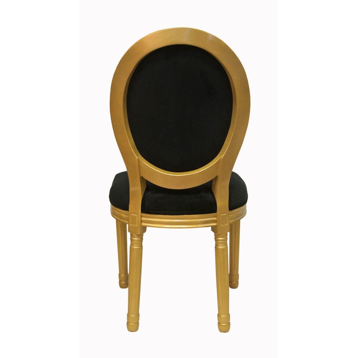 Стул Volker black gold 3 | Обеденные стулья Kingsby