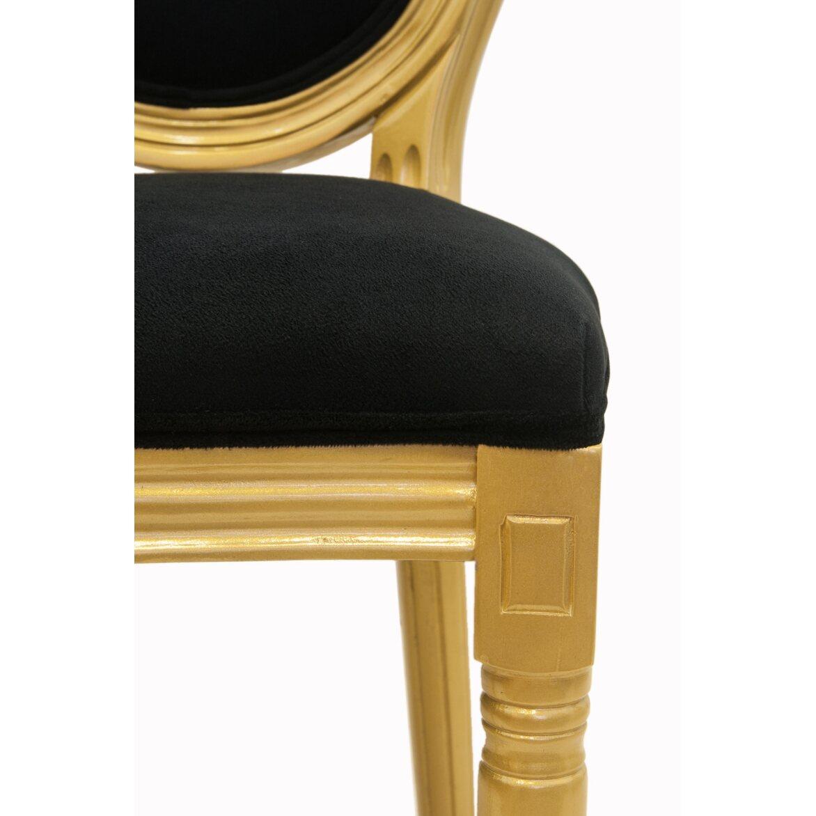 Стул Volker black gold 5 | Обеденные стулья Kingsby