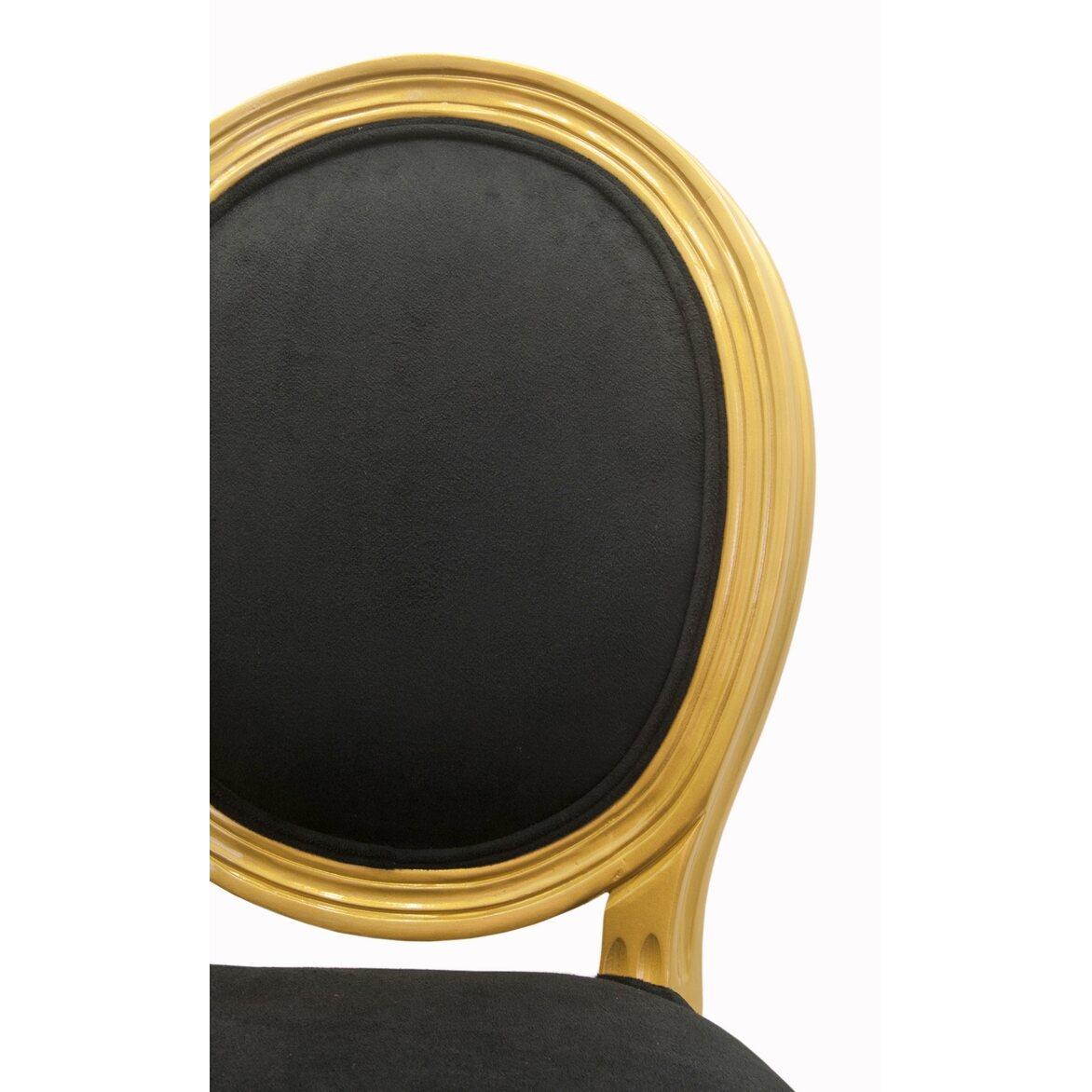 Стул Volker black gold 6 | Обеденные стулья Kingsby