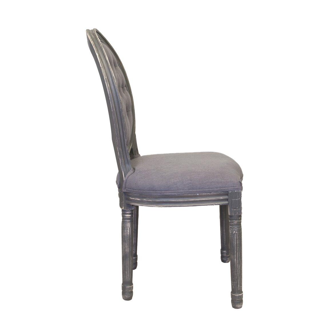 Стул Volker button grey 2 | Обеденные стулья Kingsby