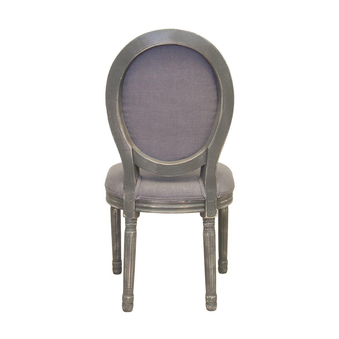 Стул Volker button grey 3 | Обеденные стулья Kingsby