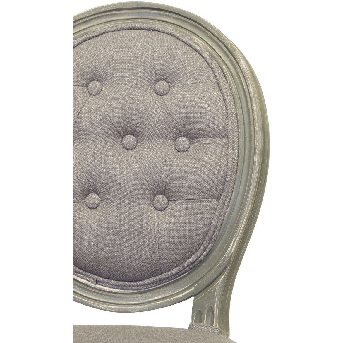 Стул Volker button grey 5 | Обеденные стулья Kingsby