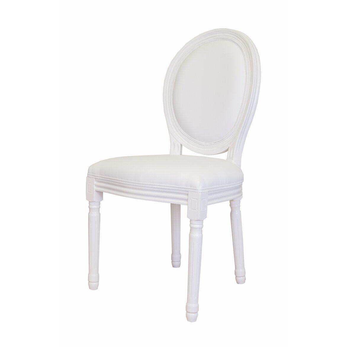 Стул Volker white 4   Обеденные стулья Kingsby