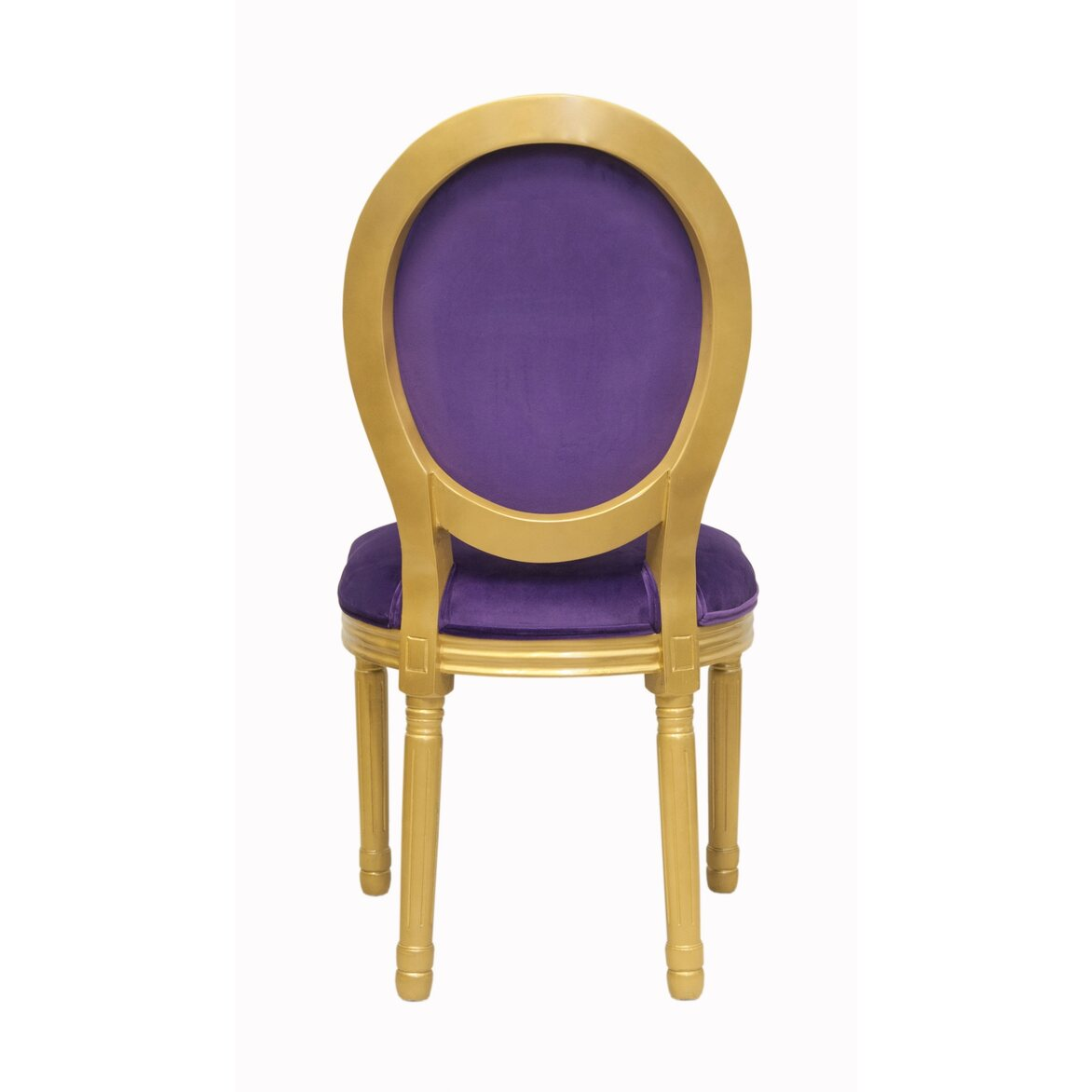 Стул Volker violet gold 3 | Обеденные стулья Kingsby