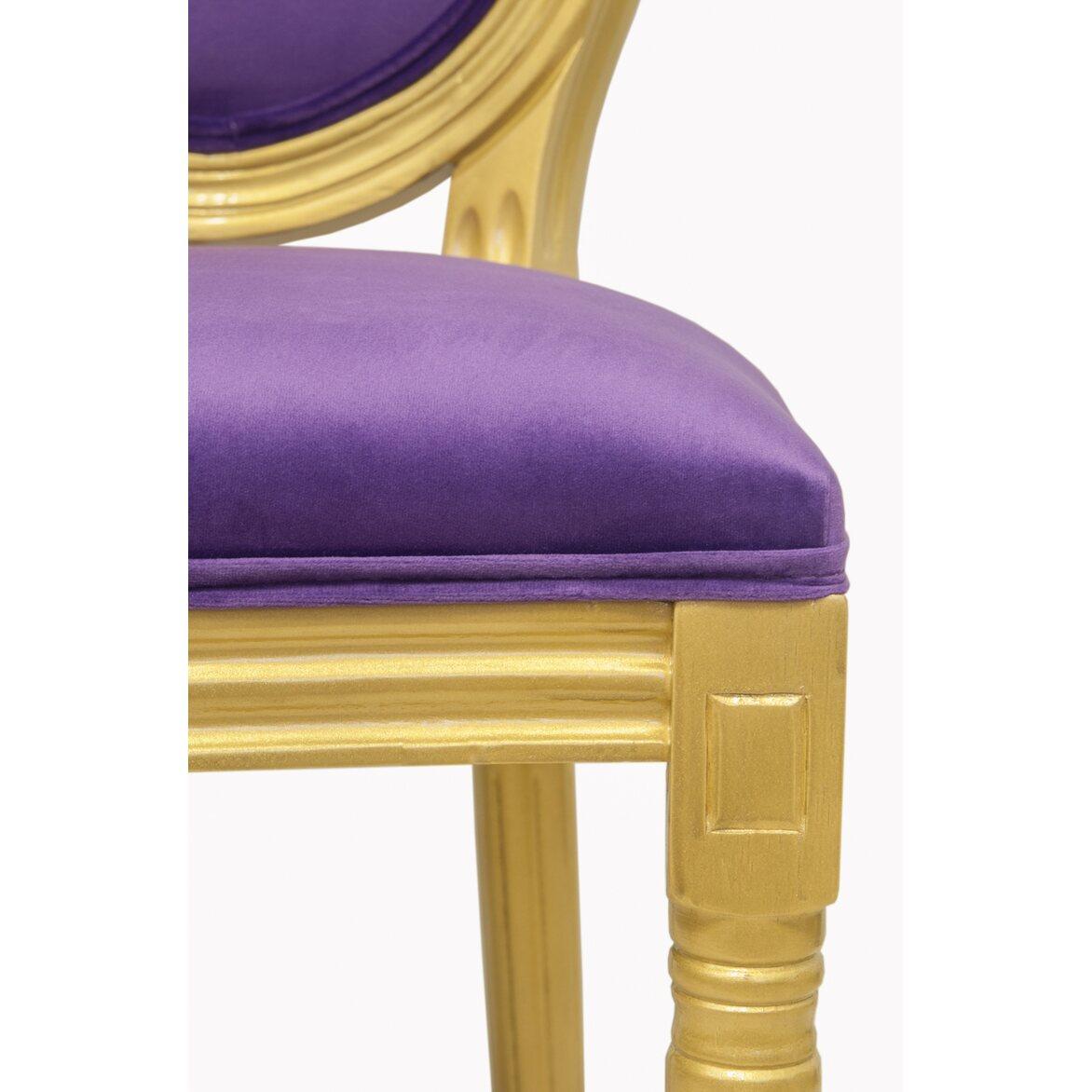 Стул Volker violet gold 5 | Обеденные стулья Kingsby