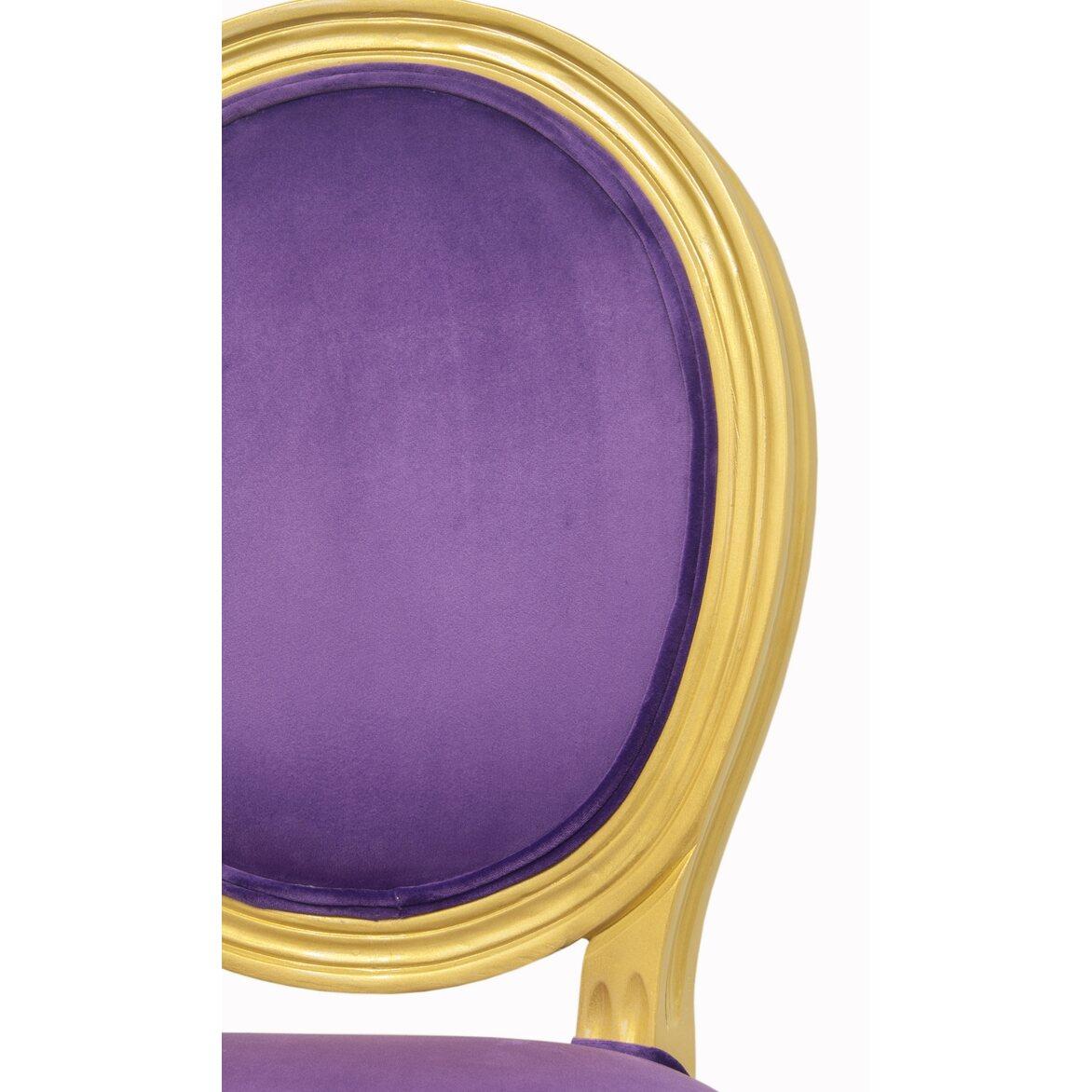 Стул Volker violet gold 6 | Обеденные стулья Kingsby