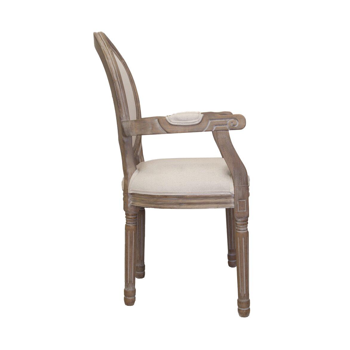 Стул Volker arm beige 2 | Обеденные стулья Kingsby