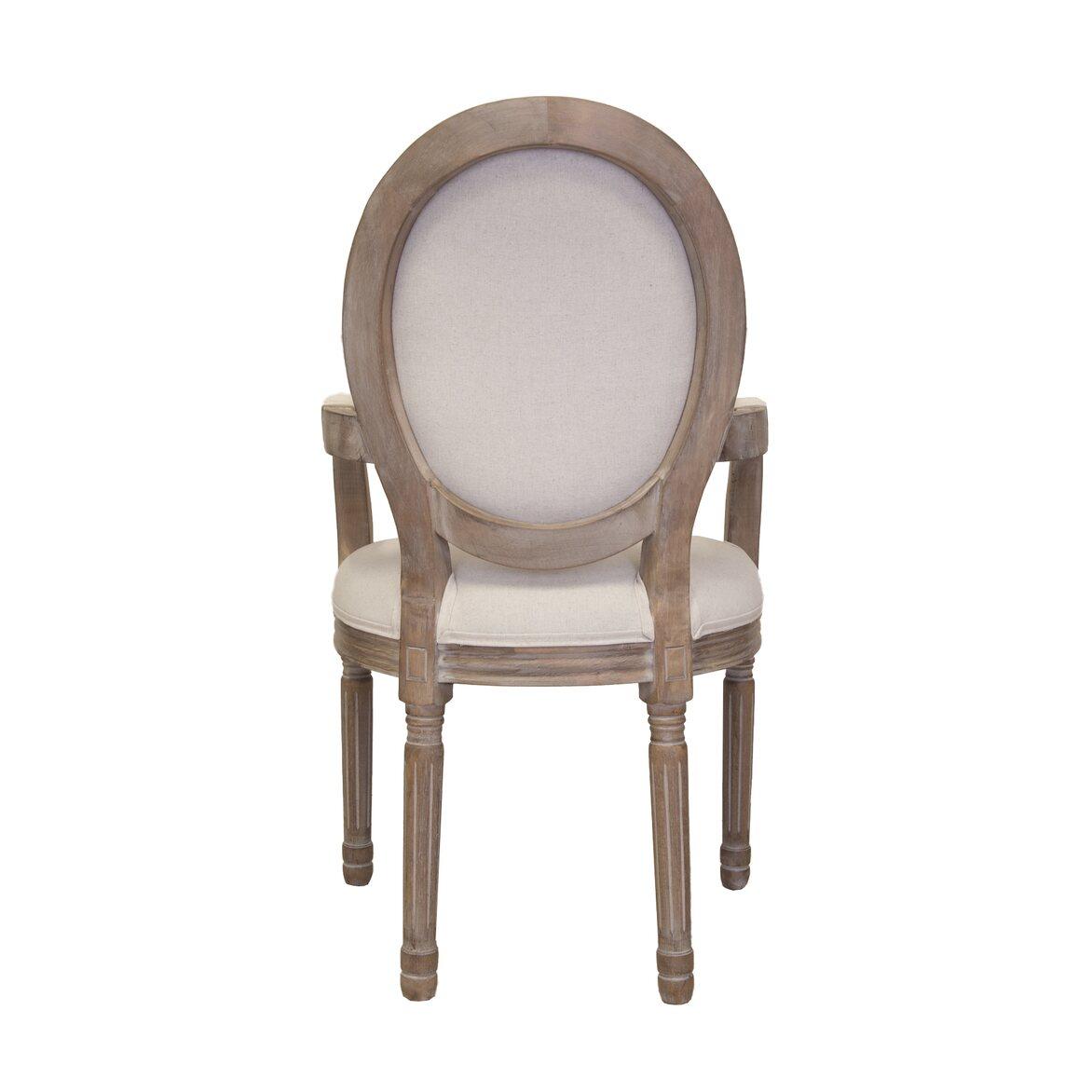 Стул Volker arm beige 3 | Обеденные стулья Kingsby