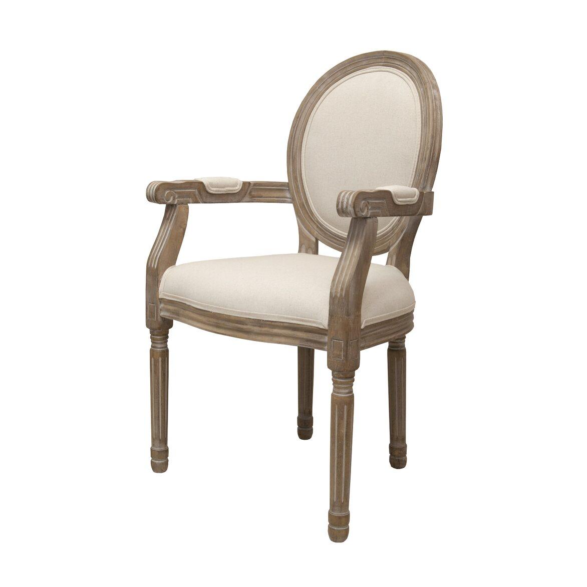 Стул Volker arm beige 4 | Обеденные стулья Kingsby