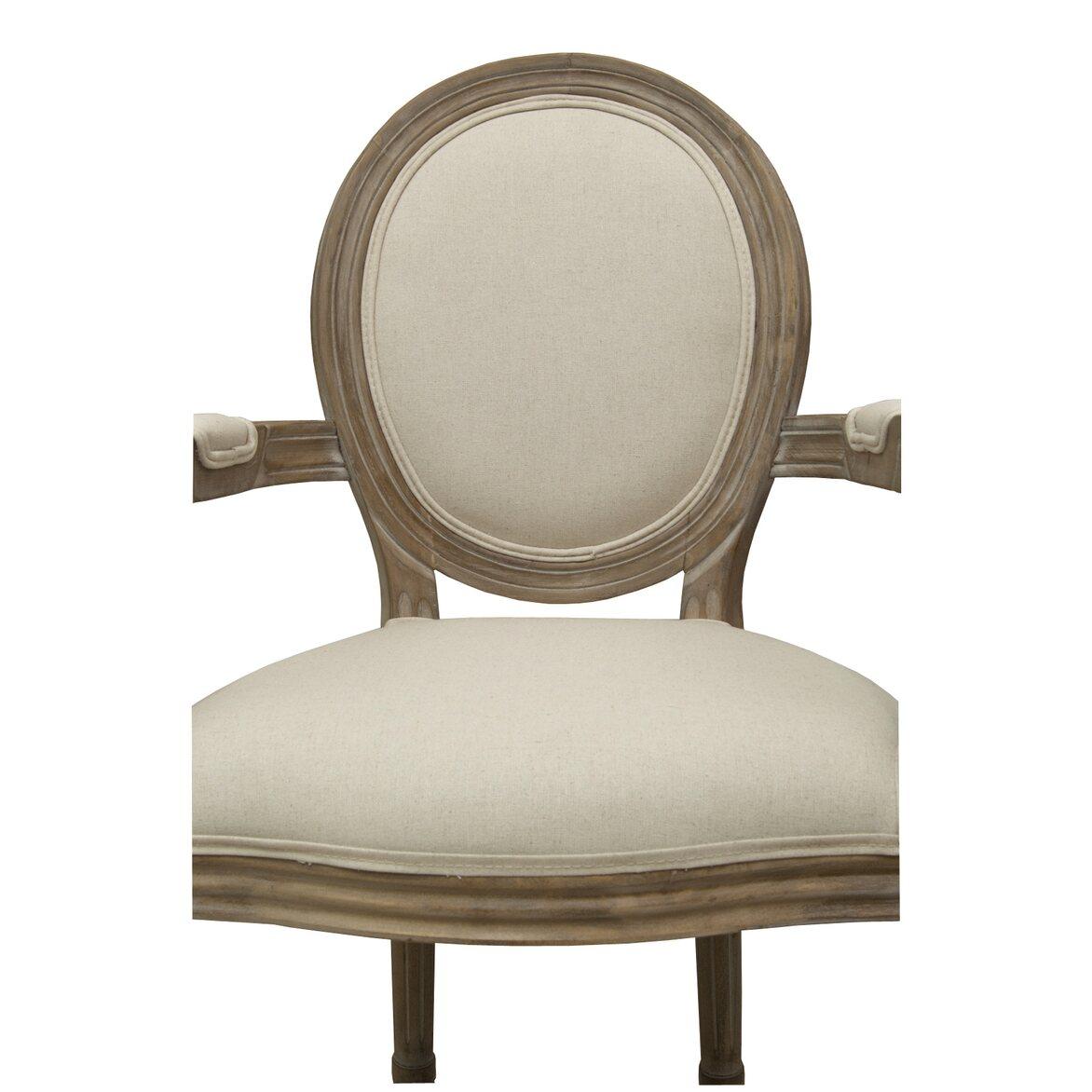 Стул Volker arm beige 5 | Обеденные стулья Kingsby