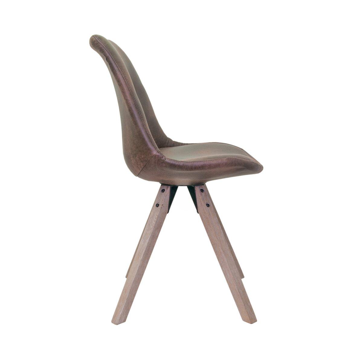 Стул Dexx brown 2 | Обеденные стулья Kingsby