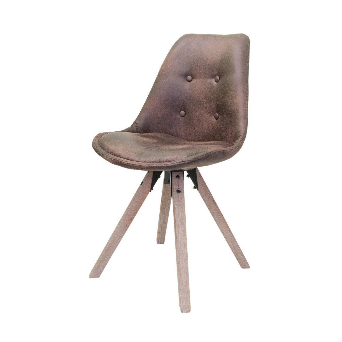 Стул Dexx brown 4 | Обеденные стулья Kingsby