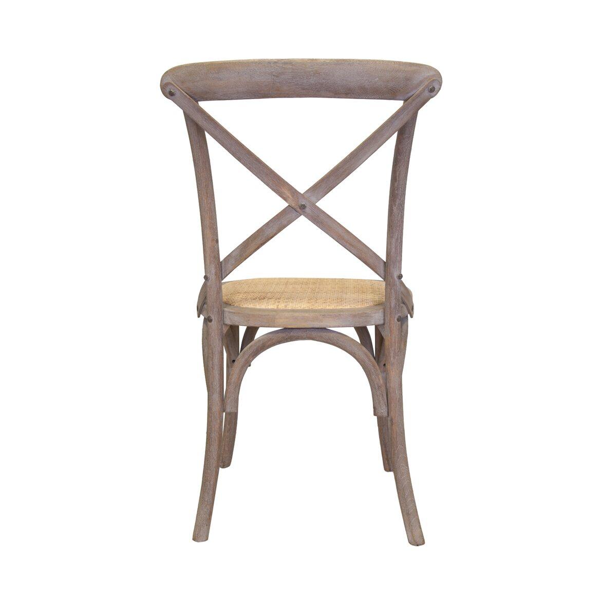 Стул Cross back old 3 | Обеденные стулья Kingsby