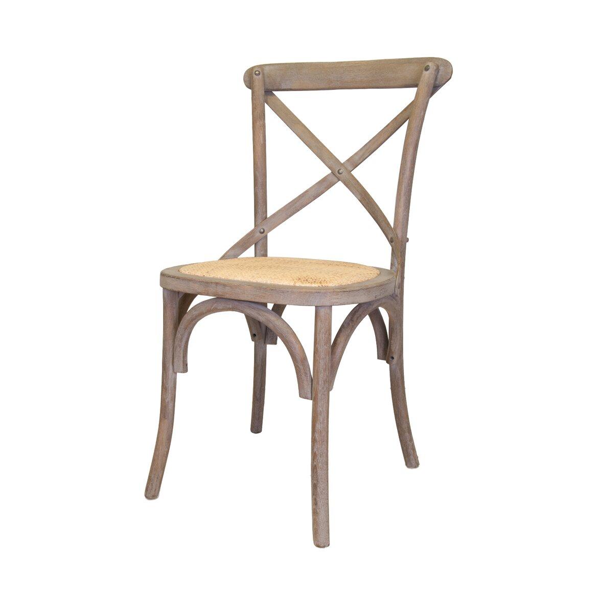 Стул Cross back old 4 | Обеденные стулья Kingsby