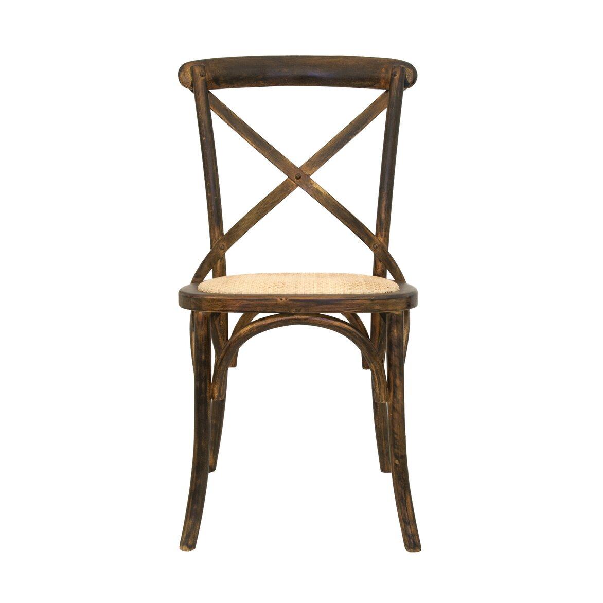 Стул Cross back bronze | Обеденные стулья Kingsby