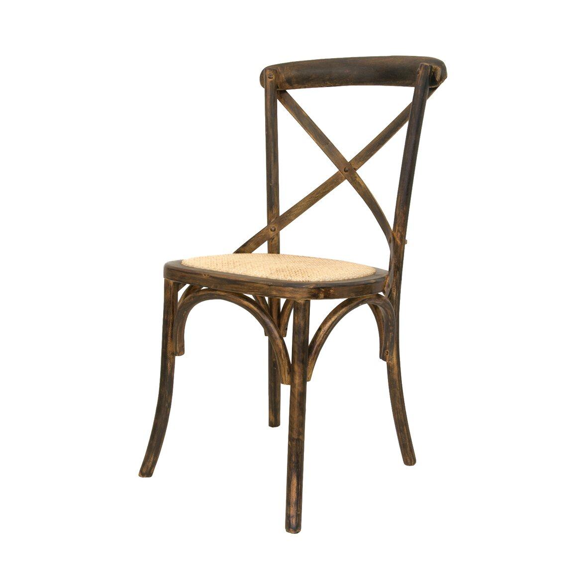 Стул Cross back bronze 4 | Обеденные стулья Kingsby