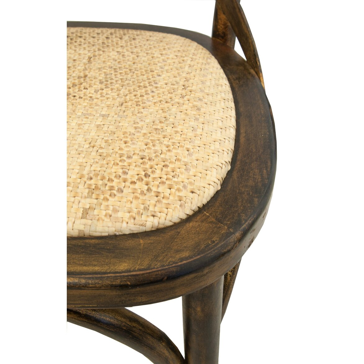Стул Cross back bronze 5 | Обеденные стулья Kingsby