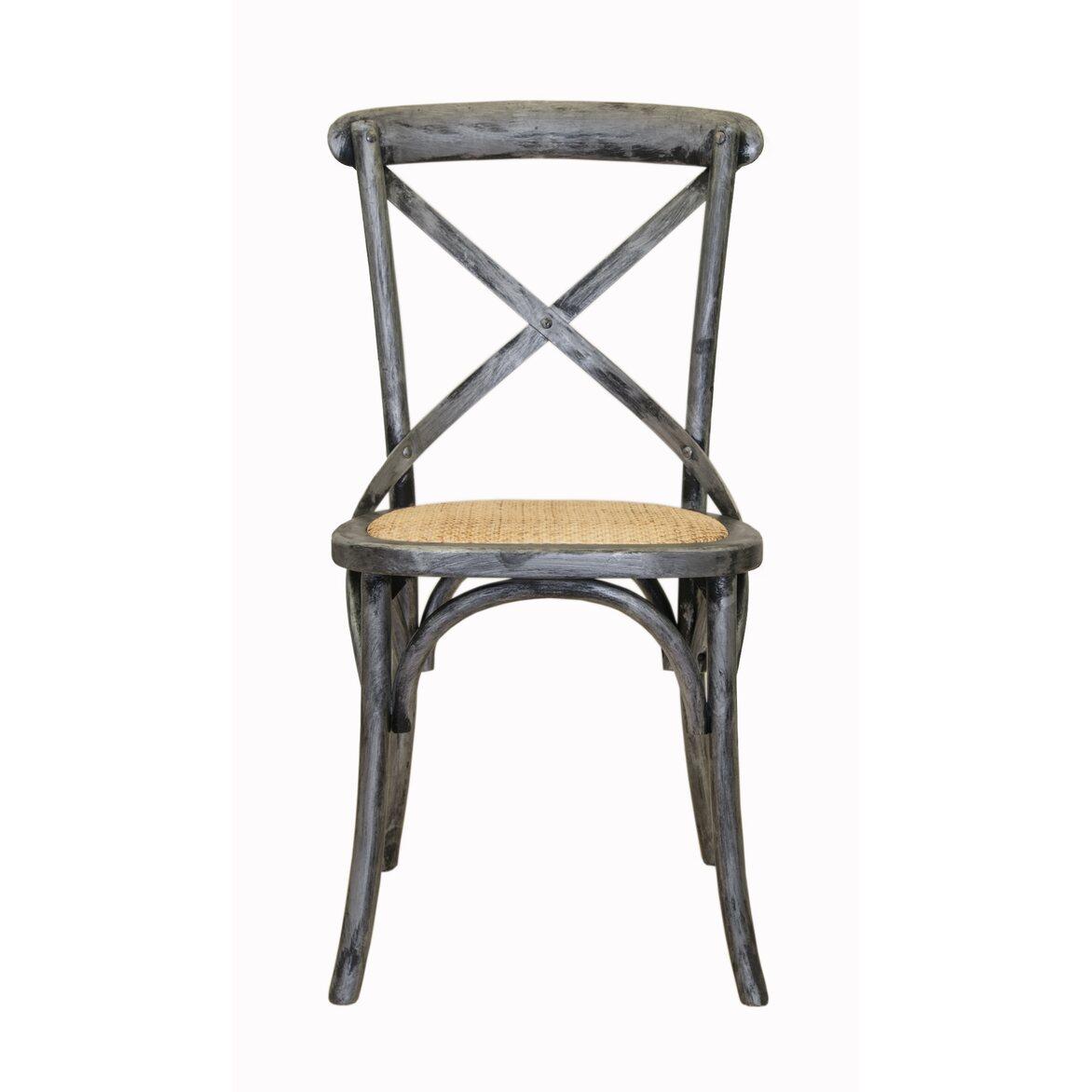 Стул Cross back silver | Обеденные стулья Kingsby
