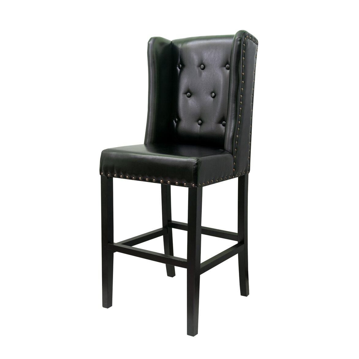 Стул Skipton black 4 | Барные стулья Kingsby