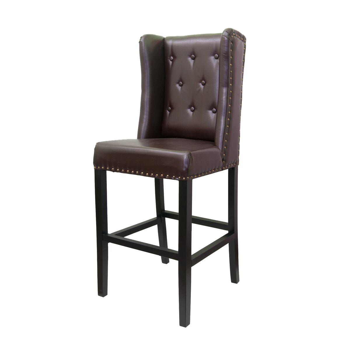 Стул Skipton brown 4 | Барные стулья Kingsby