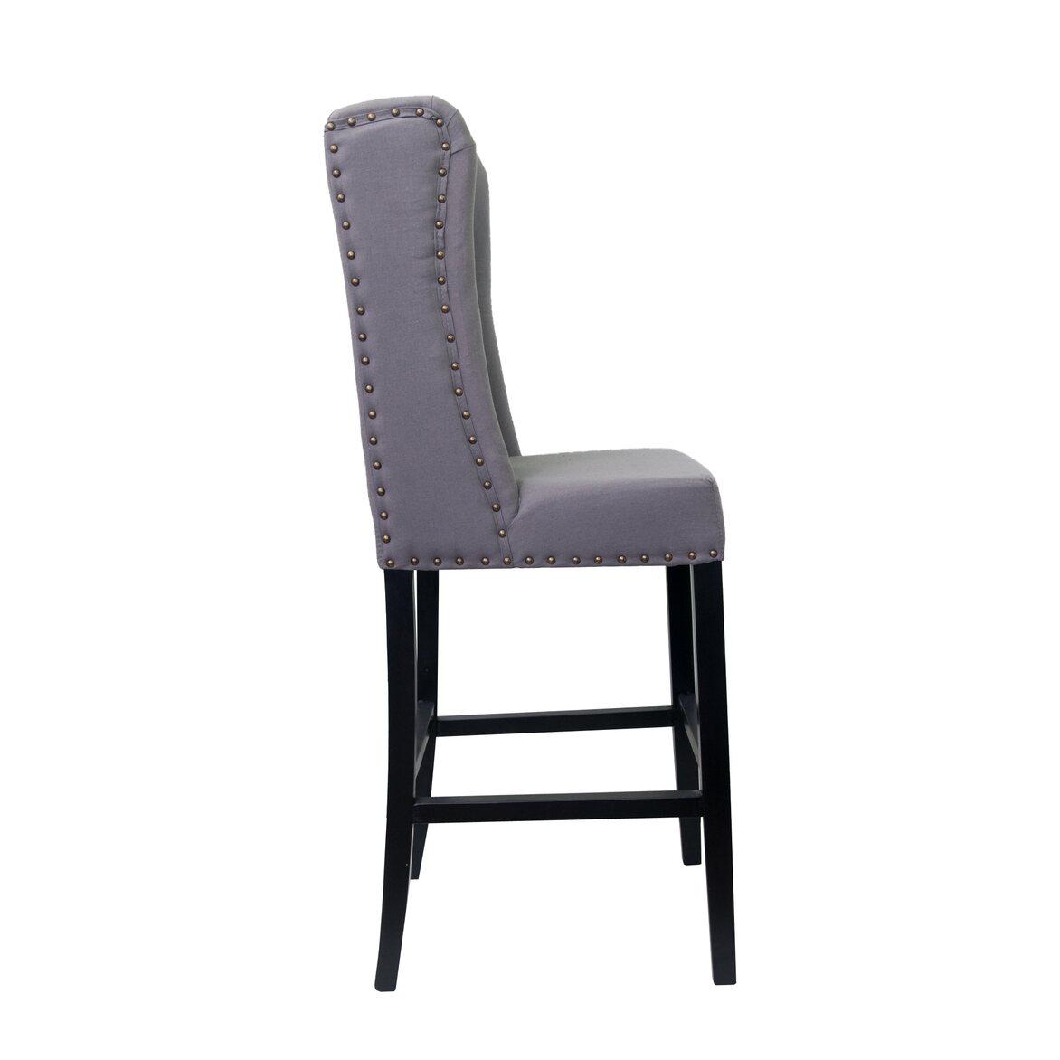 Стул Skipton grey ver.2 2 | Барные стулья Kingsby