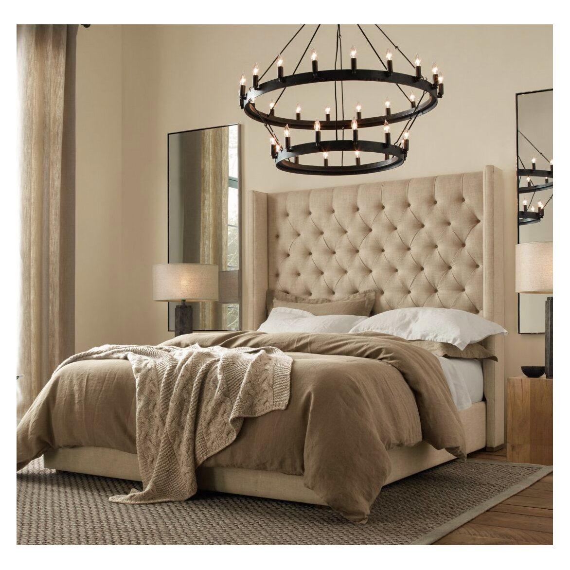 Кровать Melso   Двуспальные кровати Kingsby