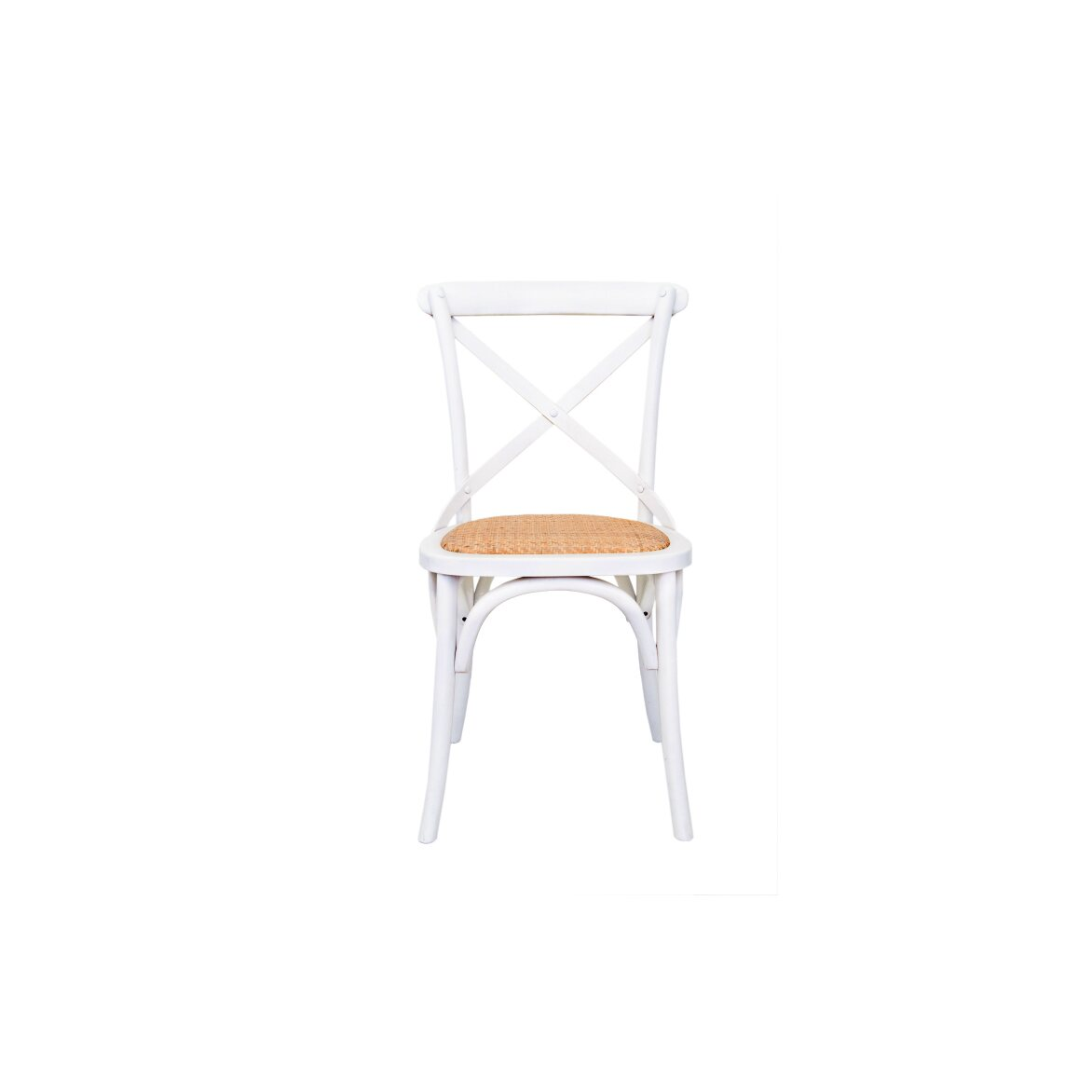 Стул Cross back white | Обеденные стулья Kingsby