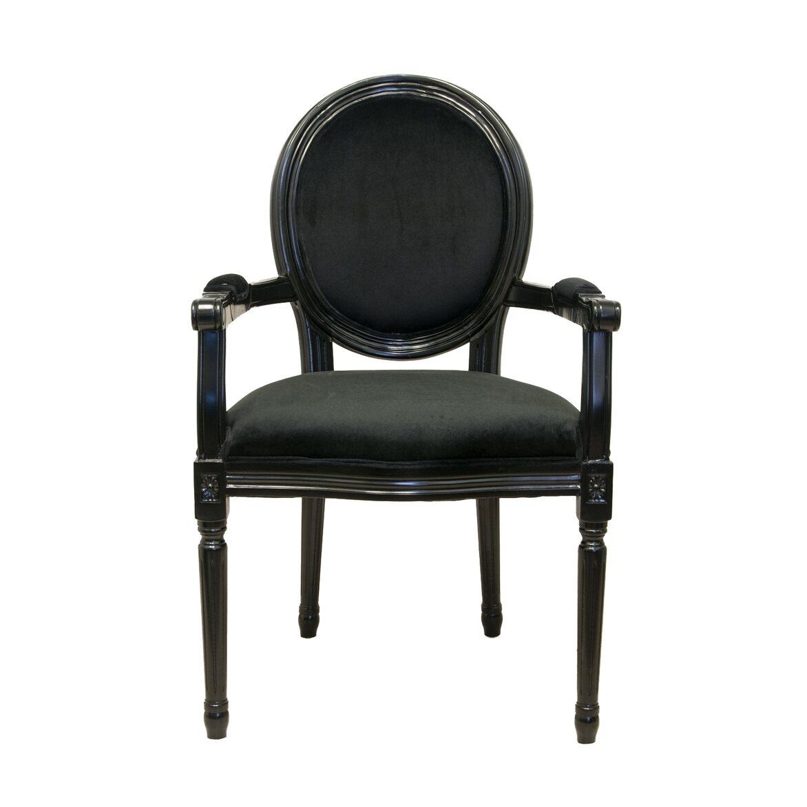 Стул Diella black velvet | Обеденные стулья Kingsby