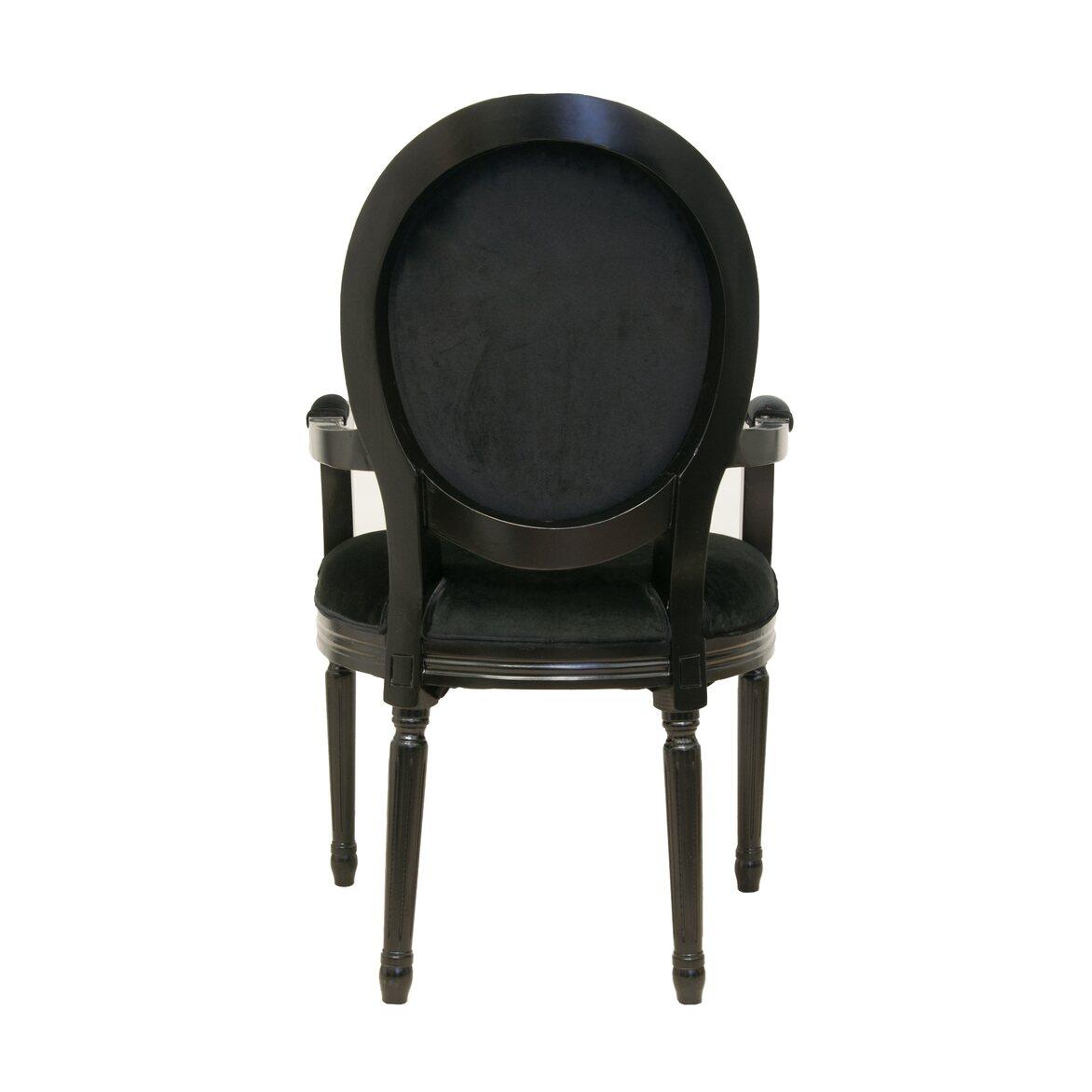 Стул Diella black velvet 3 | Обеденные стулья Kingsby