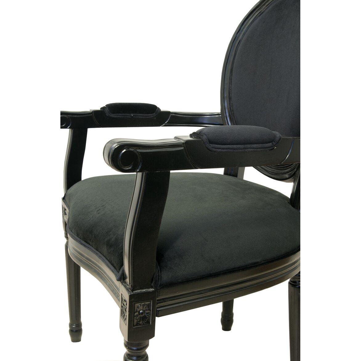 Стул Diella black velvet 5 | Обеденные стулья Kingsby