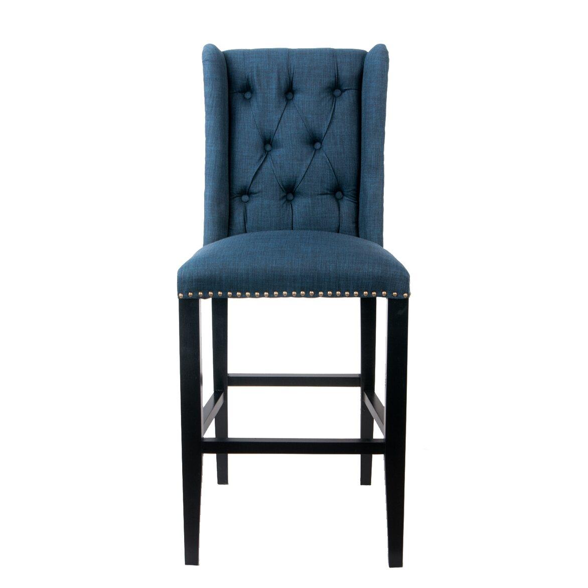 Стул Skipton blue   Барные стулья Kingsby