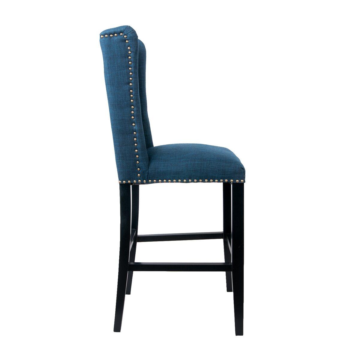 Стул Skipton blue 2   Барные стулья Kingsby