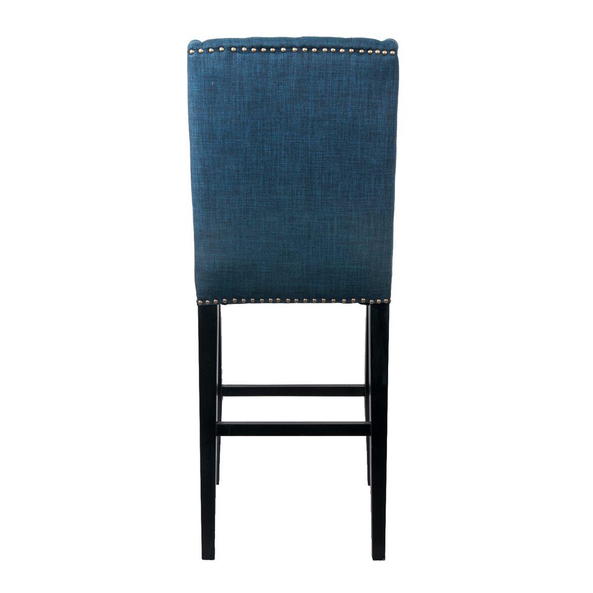 Стул Skipton blue 3   Барные стулья Kingsby