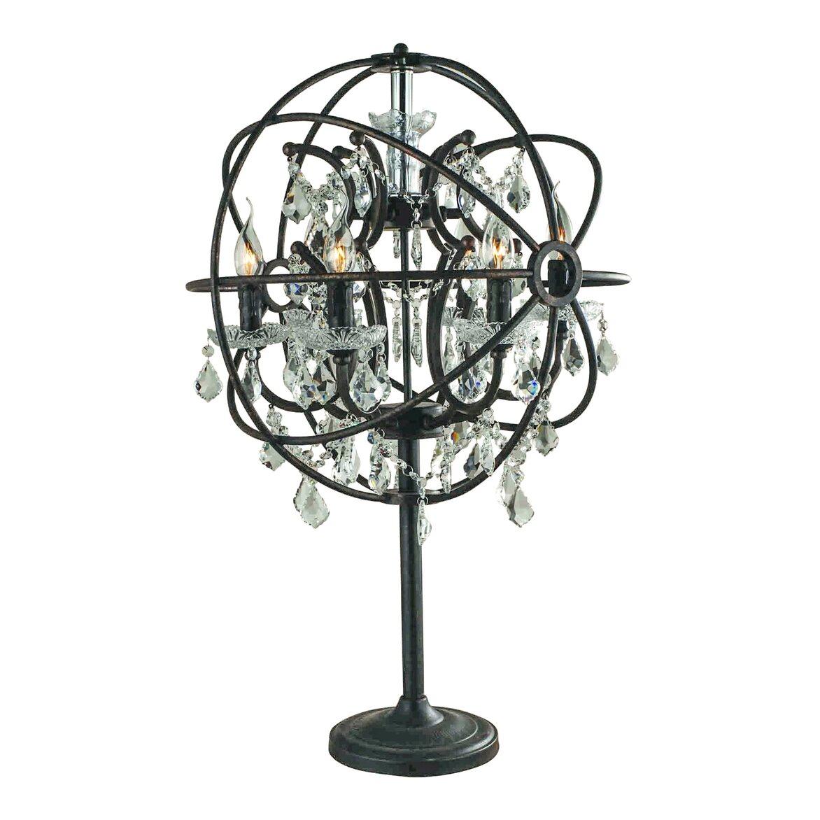 Настольная лампа Foucault's Orb Crystal T   Настольные лампы Kingsby