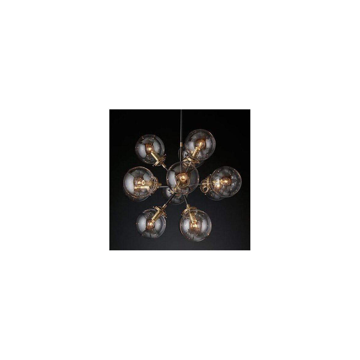 Подвесная люстра Bistro Glob 12   Подвесные люстры Kingsby