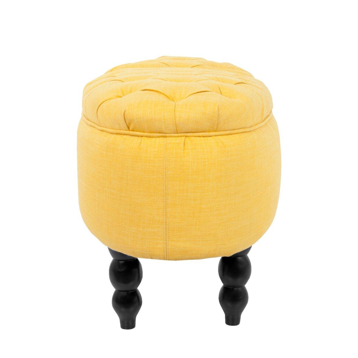 Пуф Wattley yellow 2 | Пуфы Kingsby