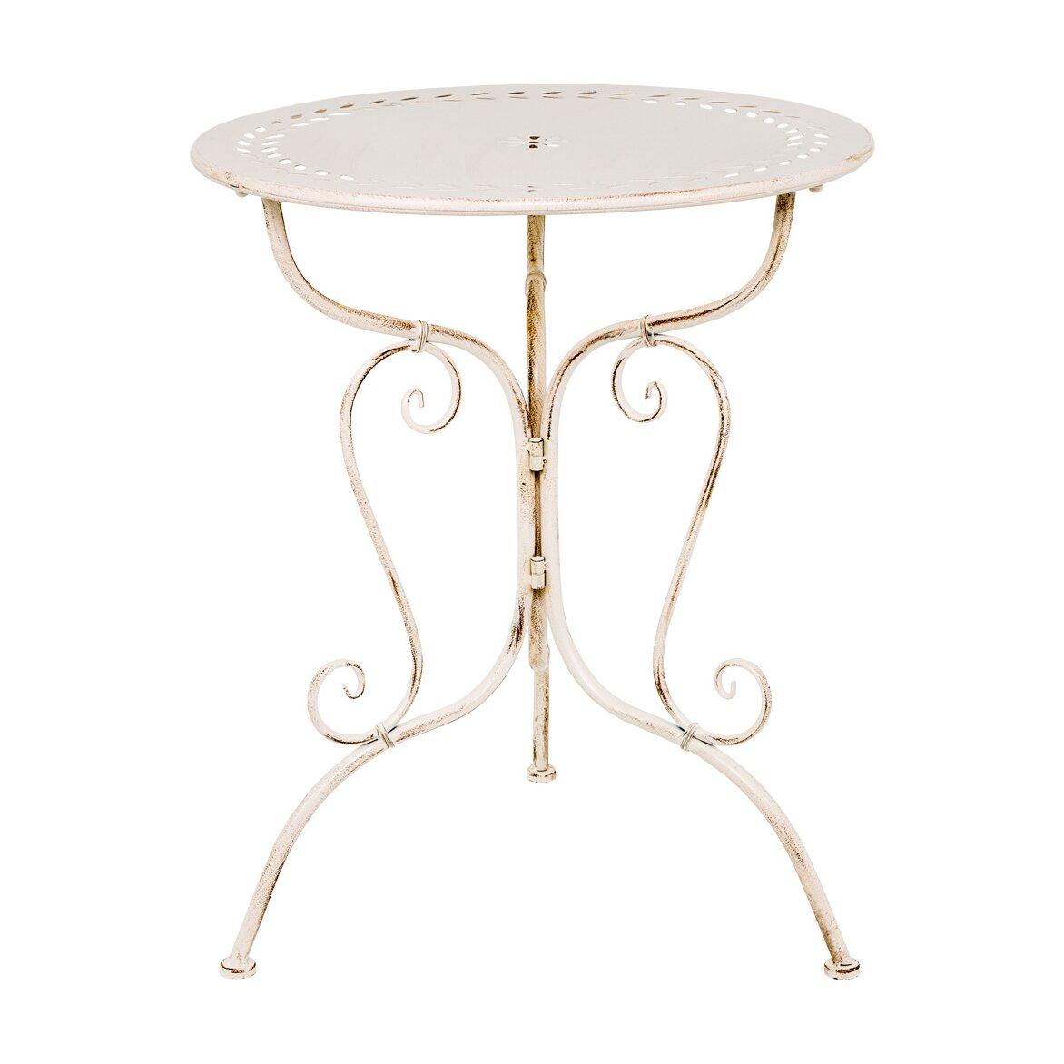 Столик для завтрака «Жарден» (белый антик)   Кофейные столики Kingsby