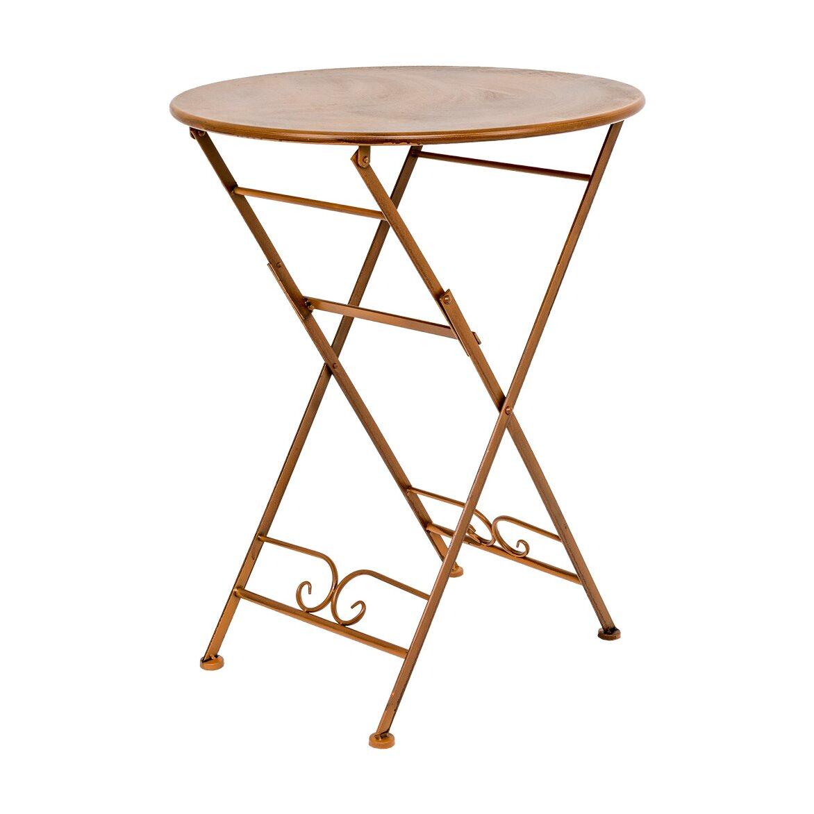Складной столик для завтрака «Жарден» (карамель)   Кофейные столики Kingsby