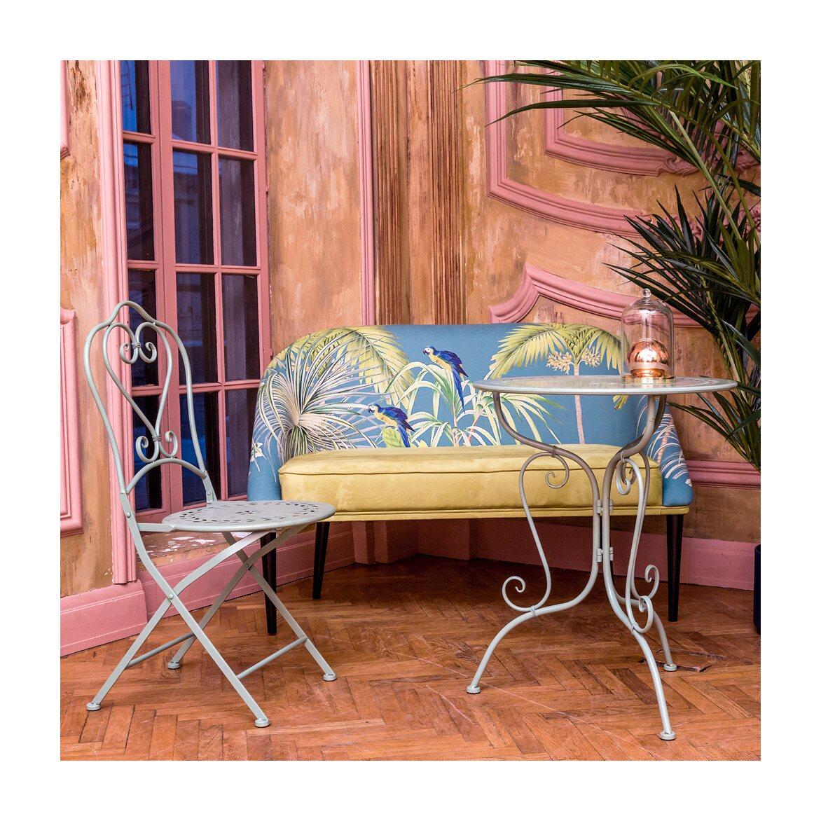 Складной стул «Жарден» (мята) 3 | Обеденные стулья Kingsby