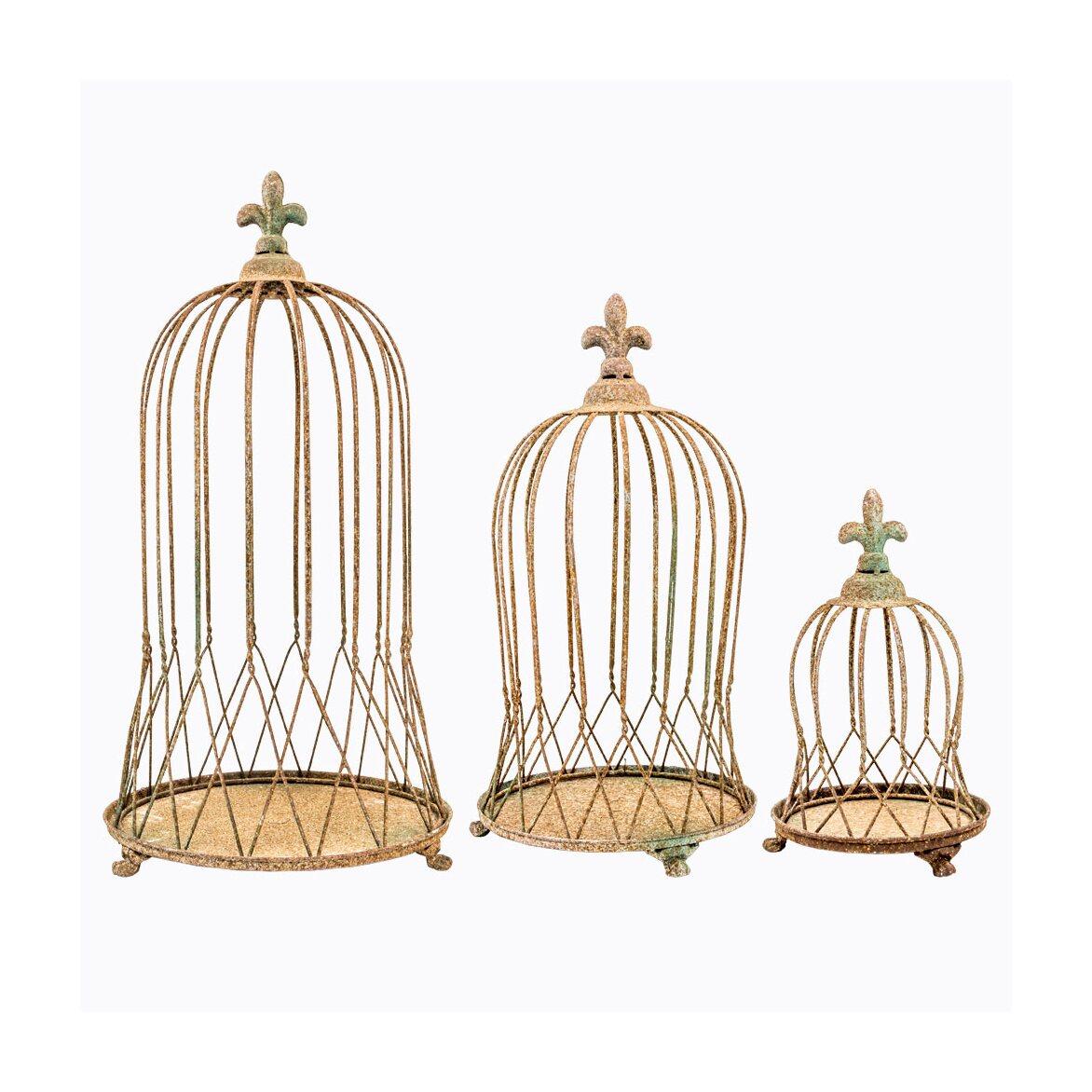 Декоративная клетка «Королевская лилия», версия L 2   Декор Kingsby