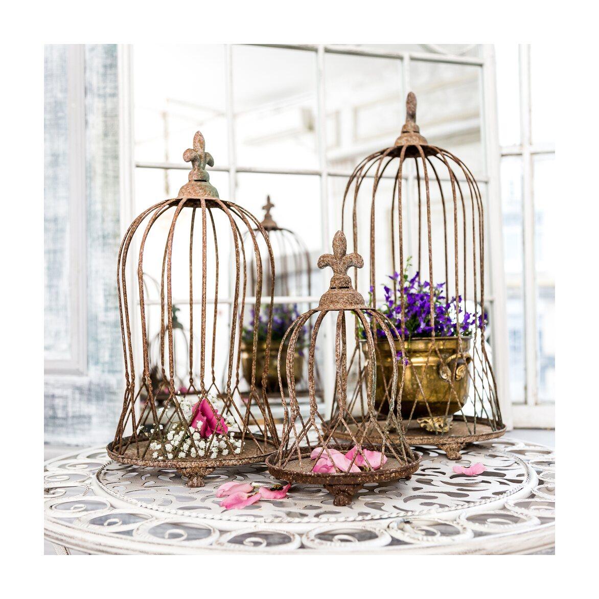 Декоративная клетка «Королевская лилия», версия L 3   Декор Kingsby