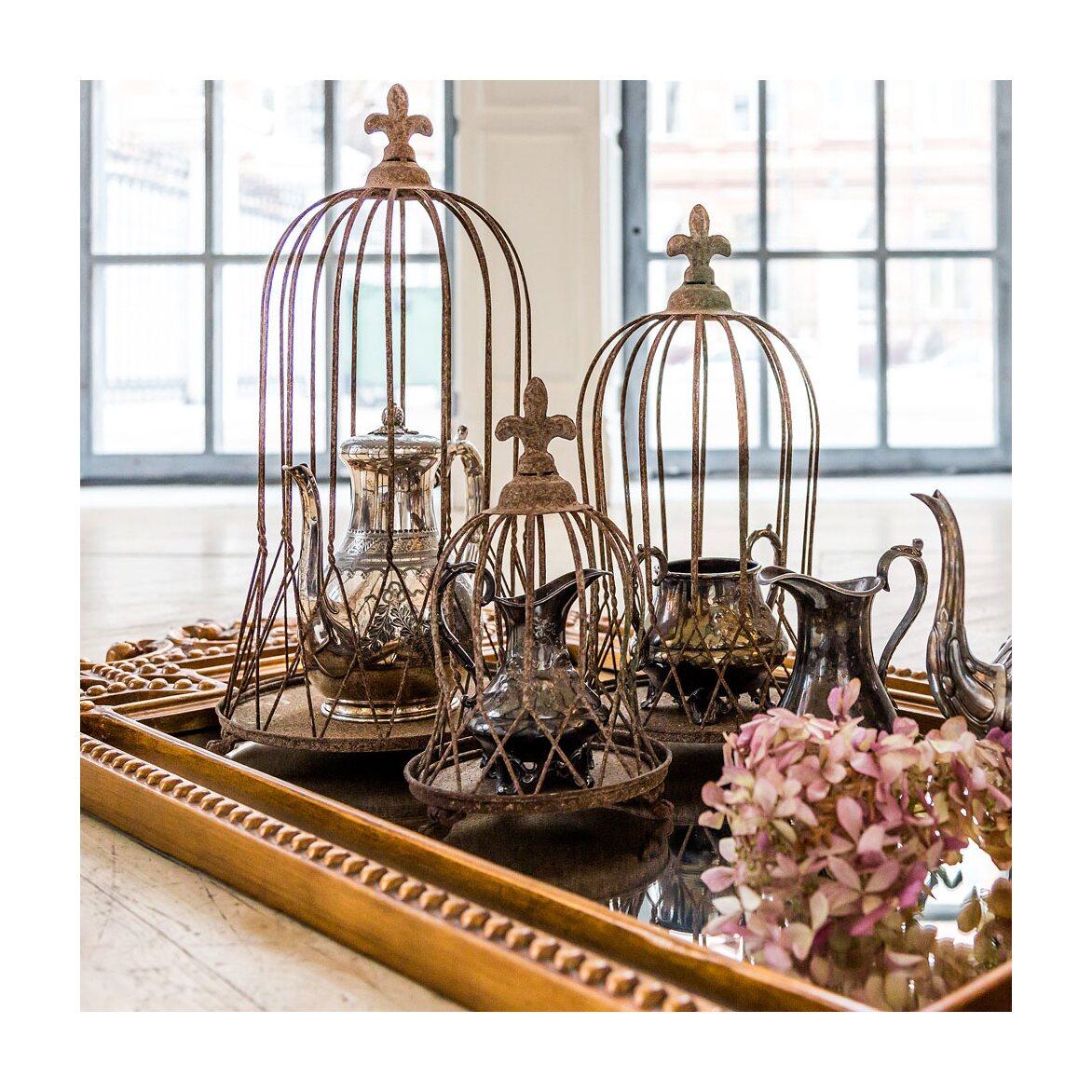 Декоративная клетка «Королевская лилия», версия L 8   Декор Kingsby