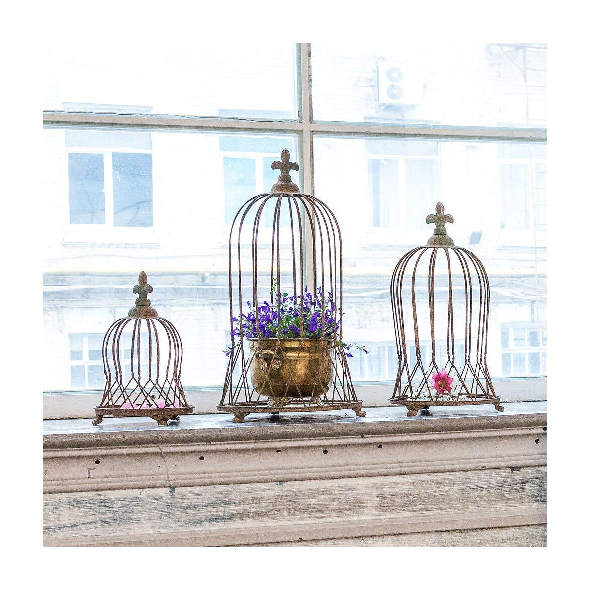 Декоративная клетка «Королевская лилия», версия L 5   Декор Kingsby