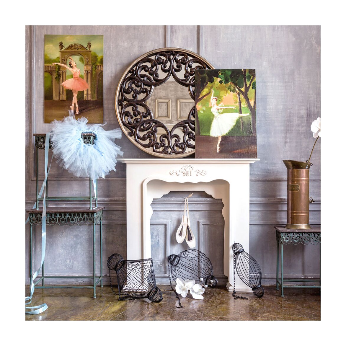 Декоративный подвесной элемент «Фонарь №2» 12 | Декор Kingsby