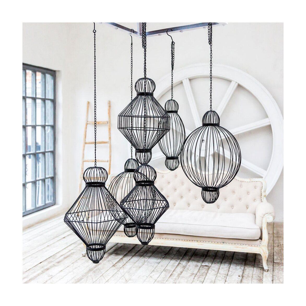 Декоративный подвесной элемент «Фонарь №6» 14 | Декор Kingsby