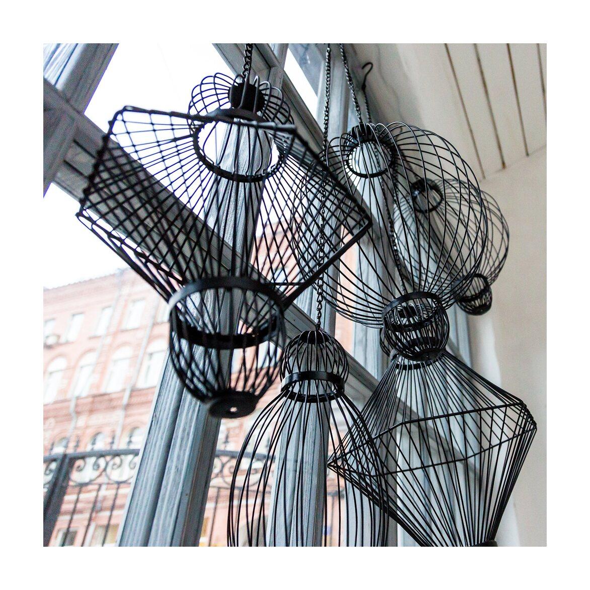 Декоративный подвесной элемент «Фонарь №6» 13 | Декор Kingsby