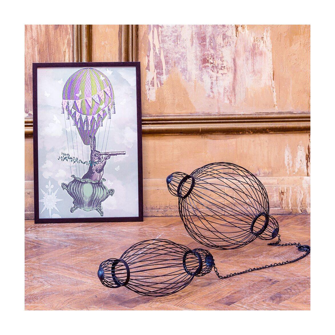 Декоративный подвесной элемент «Фонарь №6» 5 | Декор Kingsby