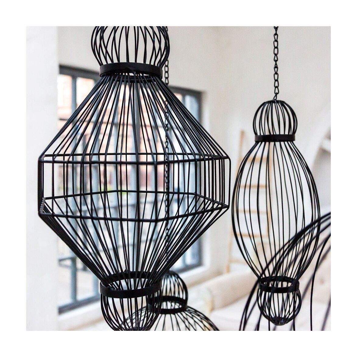 Декоративный подвесной элемент «Фонарь №6» 3 | Декор Kingsby